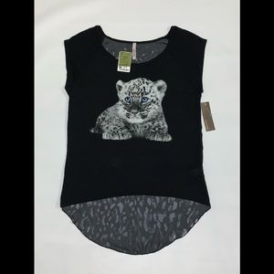 Aran's Den Baby Leopard Shirt Top
